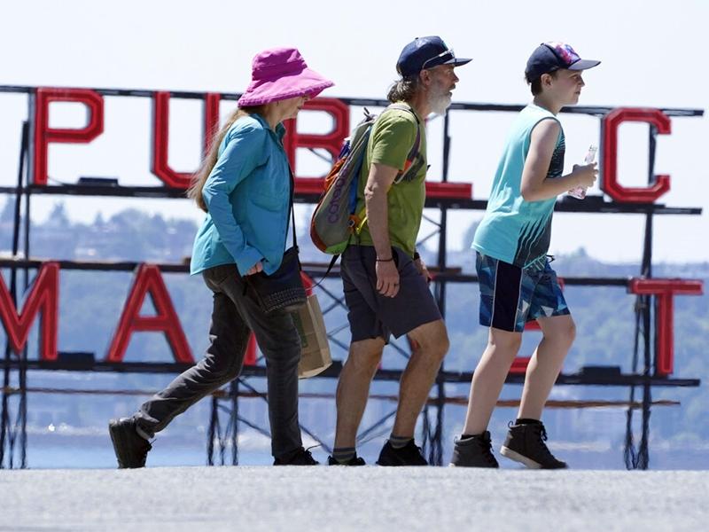 美加受热浪侵袭致停电 温哥华区至少34人疑热死