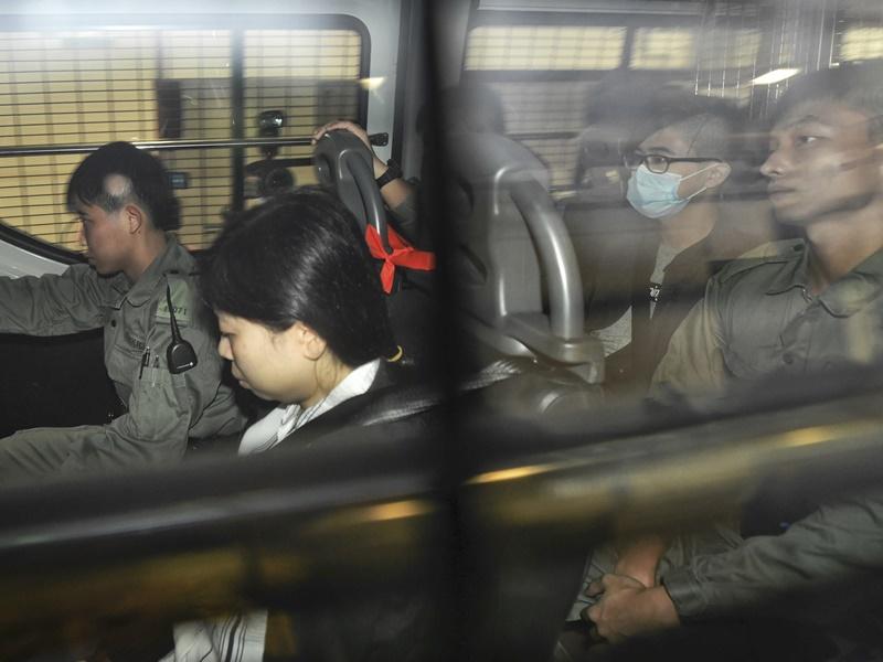 【禁蒙面法首控】2男女裁定非法集结等罪成 还柙候判