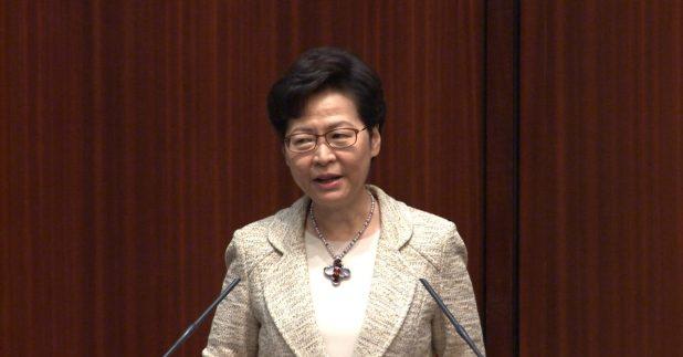 林郑月娥说,法援制度是香港法治的优势之一,是需要保留的核心价值。