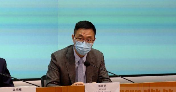杨润雄表示,学生对普通话及简体字有一定的掌握,对他们未来发展是百利而无一害。(黎蕙珊摄)