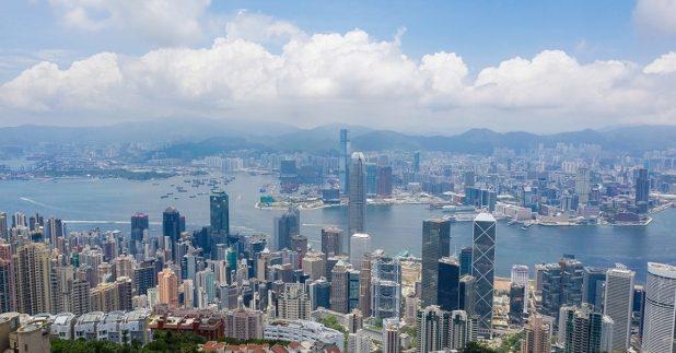 《2021年世界竞争力年报》,香港排名由去年的全球第五位,跌至第七位。(Shutterstock)