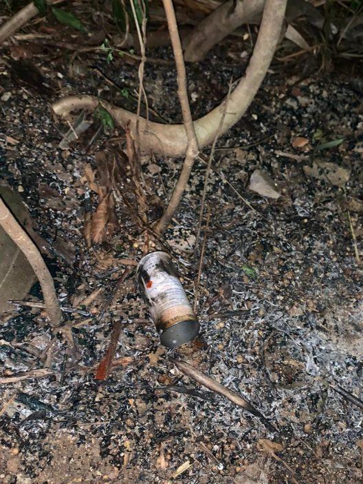 礼宾府附近斜坡被投掷多瓶易燃物 警方强烈谴责
