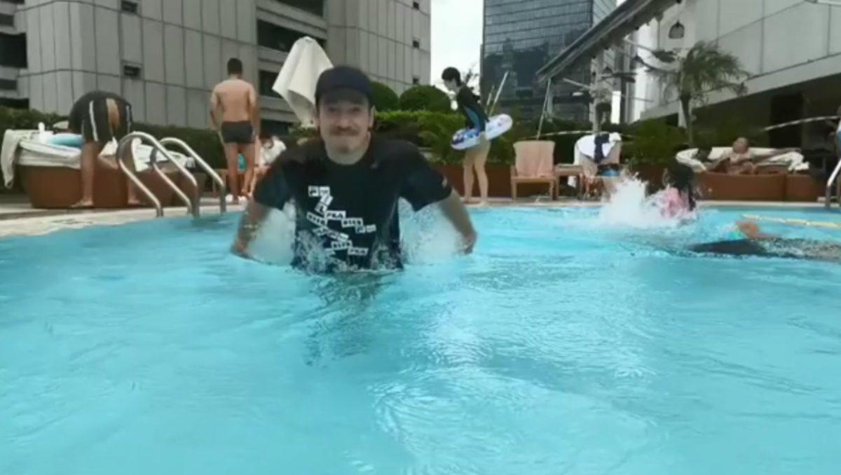 【陈氏暑假第一炮】一家五口Staycation狂玩水 索妈陈茵媺自办泳装巡礼