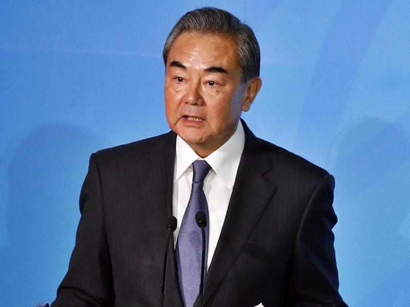 指美国势力试图在台湾问题铤而走险 王毅:极其错误及危险