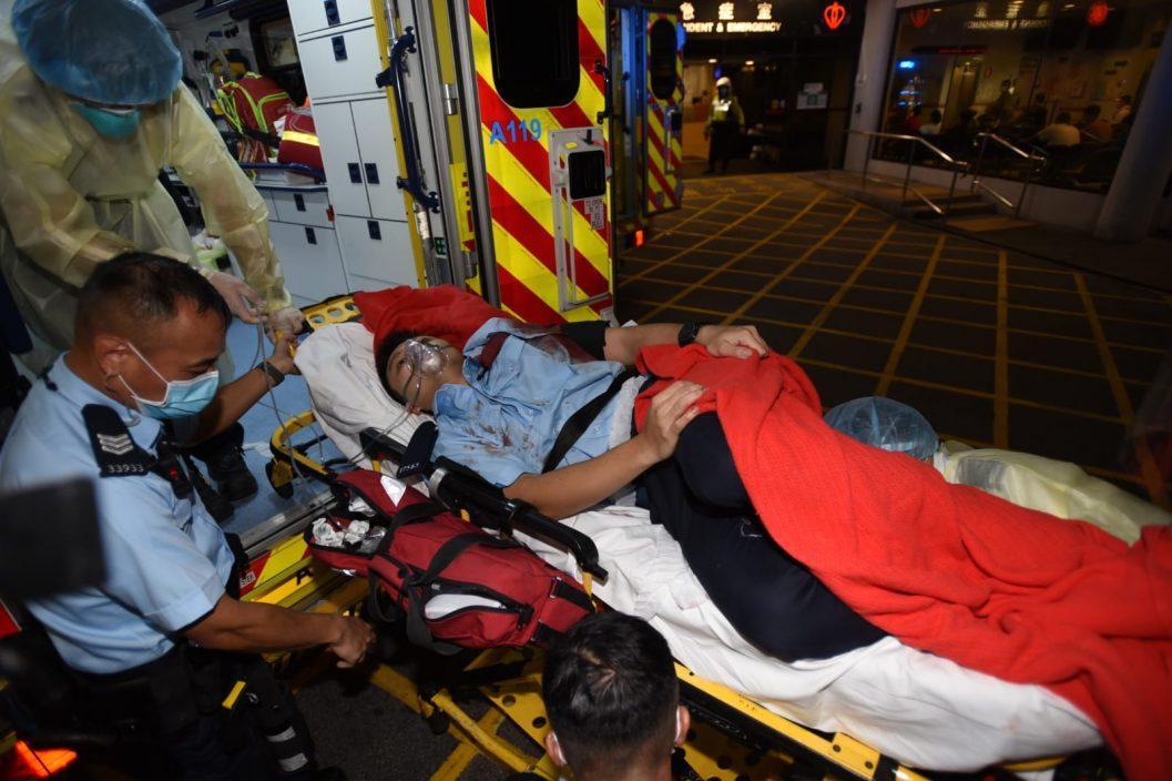 消防处6个工协会谴责袭警暴力 斥煽动憎恨人士为帮凶