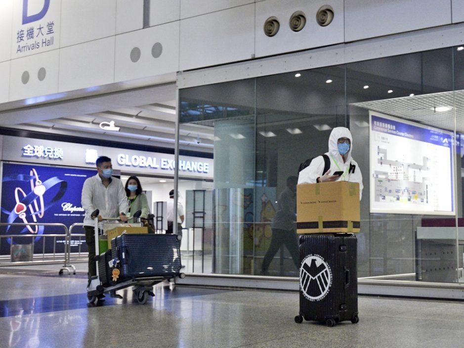 本港新增3宗输入个案 患者均从英国抵港