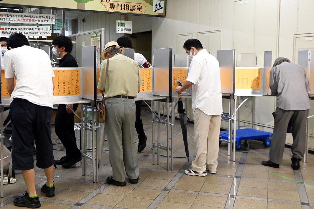 东京都议会选举今举行 防疫及奥运成焦点