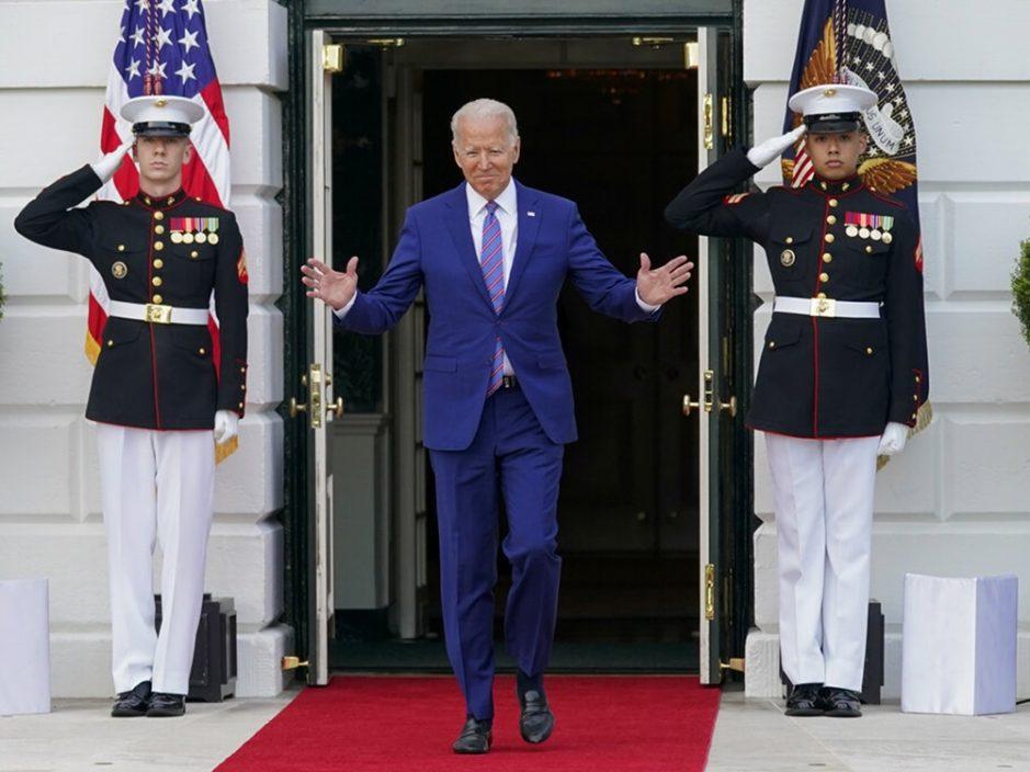 美国总统拜登出席独立日庆祝活动 吁民众接种疫苗