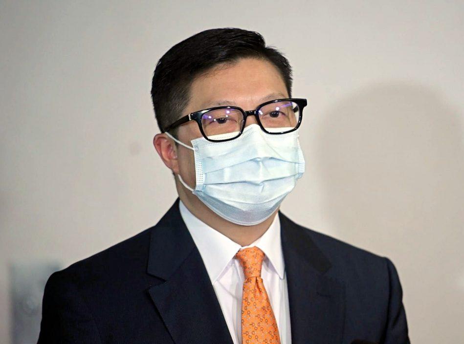 邓炳强:挑动市民支持或同情恐怖份子 助长在港进行袭击活动