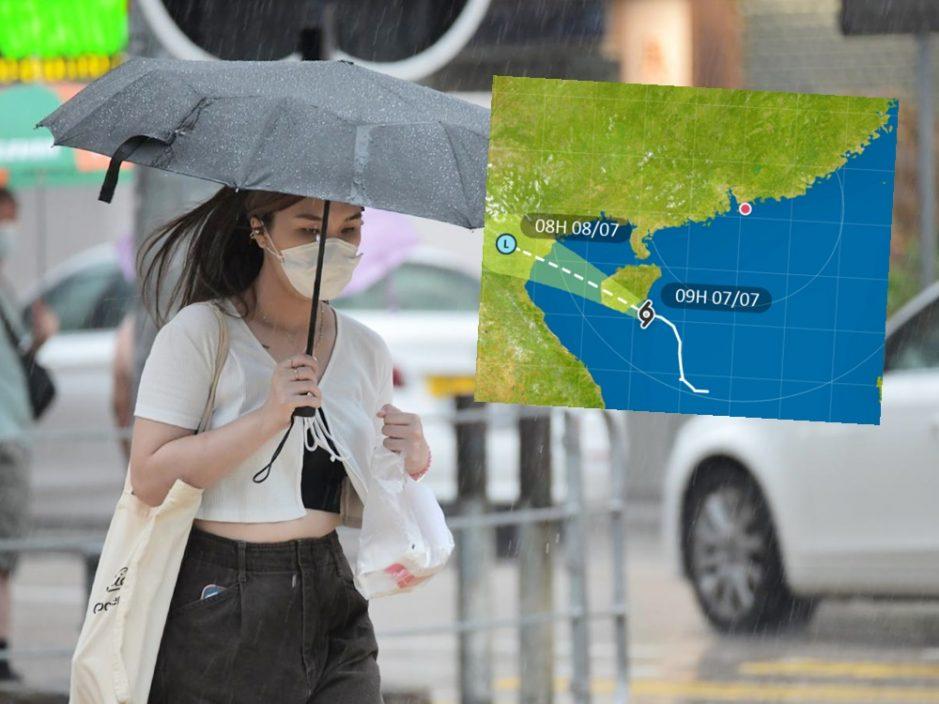 热带低气压将于海南岛登陆 一号风球今日维持一段时间