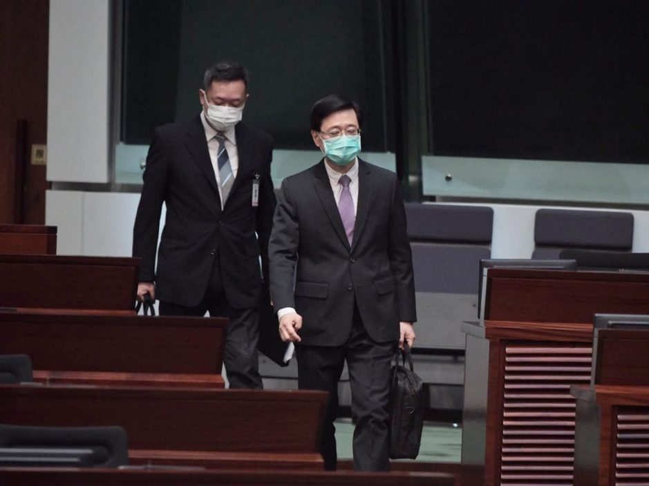 李家超指《港区国安法》实施后 无海外法官拒当非常任法官