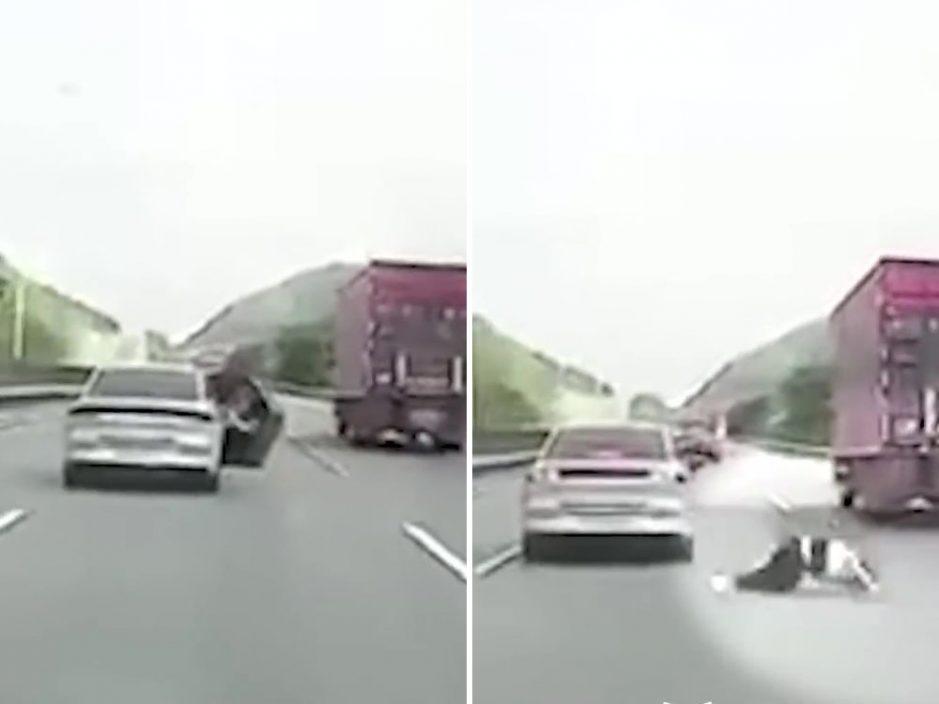 拼网约车往深圳一乘客途中堕下 警方:乘客酒后自行跳车