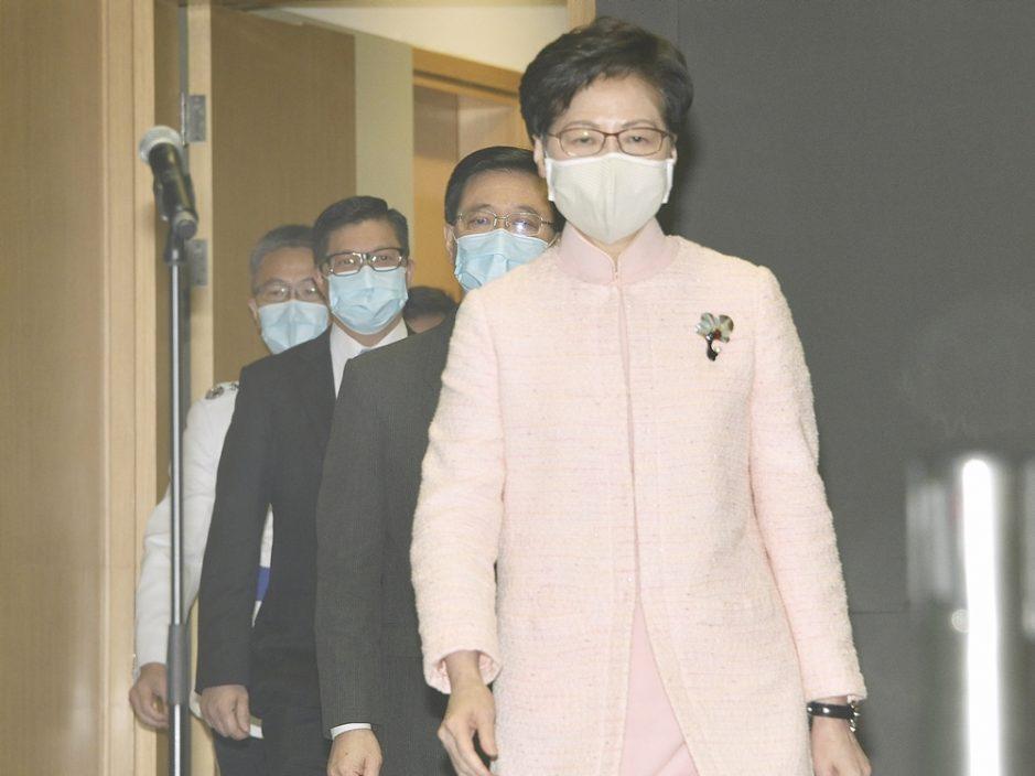 林郑10月6日发表《施政报告》 立法会换届后将再出席答问会介绍内容