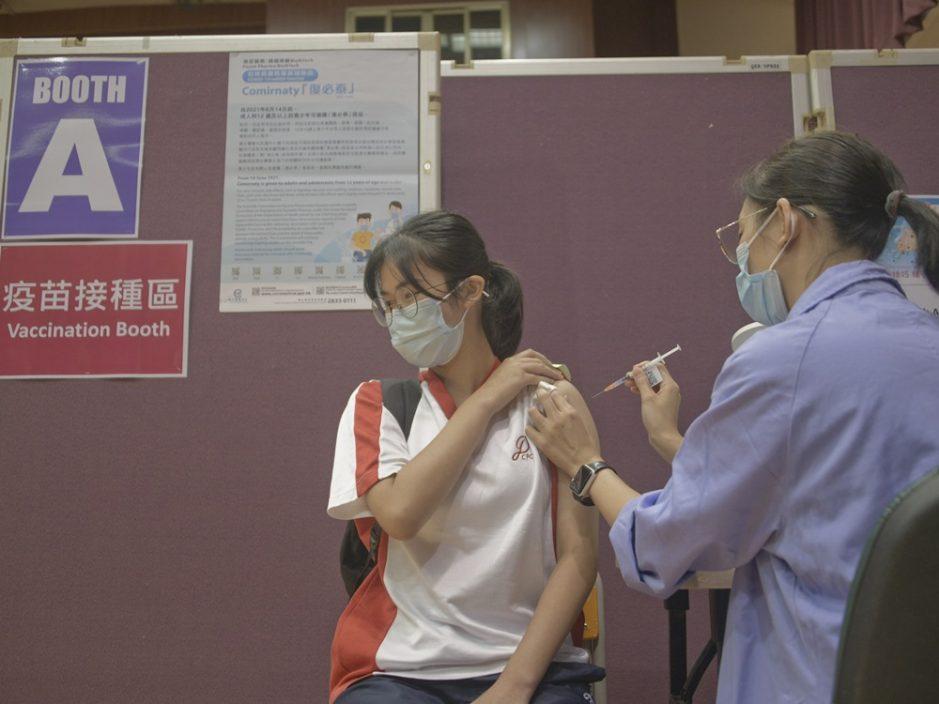 本港疫苗接种突破410万剂 11人不适送院