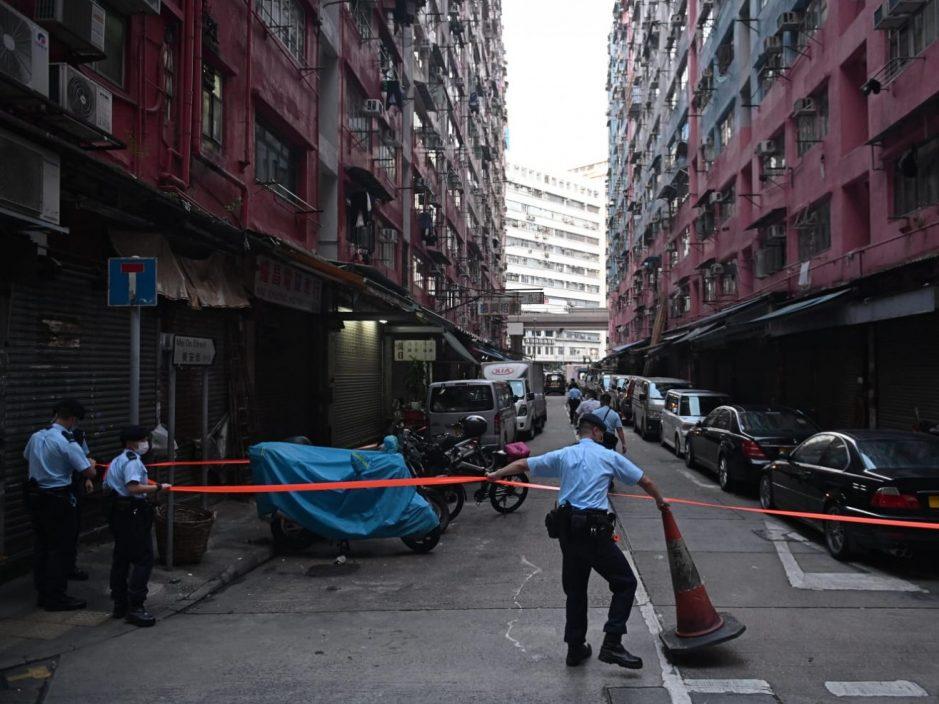 中美楼1,200居民完成强制检测 无发现确诊个案