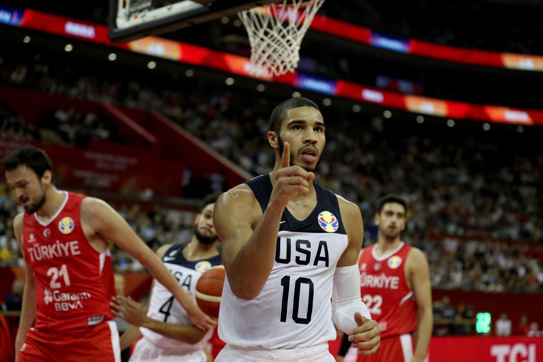 【东京奥运】泰顿穿美国队十号 继承高比遗志